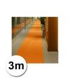 3 meter oranje loper 1 meter breed