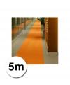 5 meter oranje loper 1 meter breed