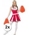 Cheerballs oranje 2 stuks