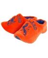 Clogs pantoffels oranje