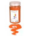 Decoratie korrelzand oranje 500 gram