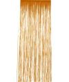 Folie deurgordijn oranje 244 x 91 cm