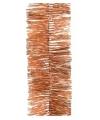 Folie slinger zacht oranje 270 cm