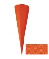 Hobby materiaal knutselzak oranje