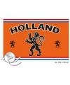 Holland vlag met tekst