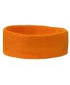 Hoofd zweetbandje oranje
