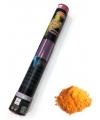 Kleurenpoeder shooter oranje 40 cm