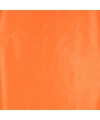 Kraft inpakpapier oranje 70 x 200 cm