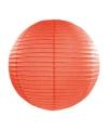 Luxe bol lampion oranje 35 cm