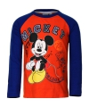 Mickey mouse t shirt oranje