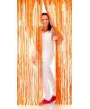Oranje deurgordijn 2 meter