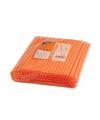 Oranje rietjes 135 stuks