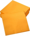 Oranje servetten 50 stuks