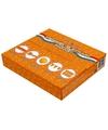 Oranje straatversiering pakket
