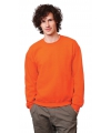 Oranje sweater voor dames en heren
