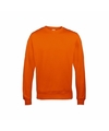 Oranje sweater voor heren just hoods