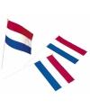 Plastic zwaaivlaggetje holland