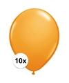 Qualatex ballonnen oranje 10 stuks