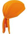 Sport bandana volwassen oranje