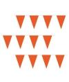 Super voordelige oranje vlaggenlijn
