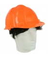 Veiligheids helm oranje