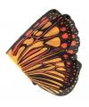Vlinder vleugels oranje voor kids