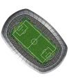 Voetbal borden rechthoekig 8 stuks