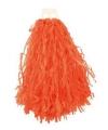 Voordelige cheerball oranje 28 cm