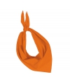 Zakdoek bandana oranje