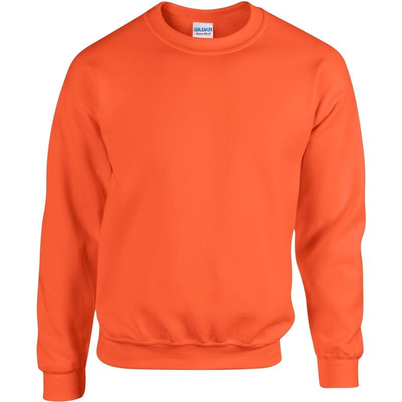Nu zeer voordelig Neon oranje trui voor heren bestellen