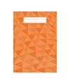 A4 lijntjes schrift oranje