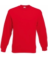 Kleding Fruit of the Loom sweater rood