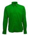 Groen heren overhemd Manhattan