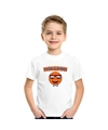 Holland coole smiley t shirt wit kinderen