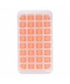 Ijsblokjes vorm 32 blokjes oranje