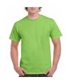 Voordelig lime groen T-shirt voor volwassenen