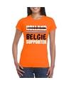 Oranje belgie shirt voor teleurgestelde holland supporters dames
