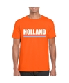 Oranje holland supporter shirt heren