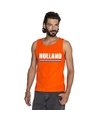 Oranje holland supporter tanktop heren