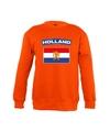 Oranje holland vlag sweater kinderen