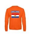 Oranje holland vlag sweater volwassenen