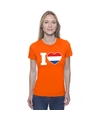 Oranje i love holland shirt dames