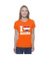 Oranje i love maxima shirt dames