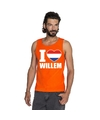 Oranje i love willem tanktop heren