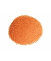 Oranje decoratie zand 610 gram