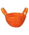 Paasmandje oranje voor paaseieren