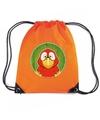 Papegaaien rugtas gymtas oranje voor kinderen