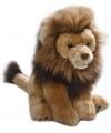 Pluche zittende leeuw 30 cm