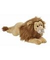 Pluche grote leeuwen knuffel liggend 70cm