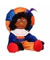 Sinterklaas pieten pop oranje 35 cm